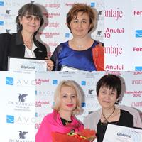 Femeia Anului 2010, gala, premiu, laureata
