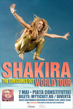 Shakira, The Sun Comes Out