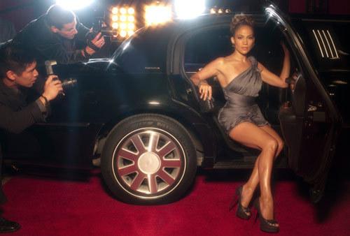 Jennifer Lopez, actrita, artista