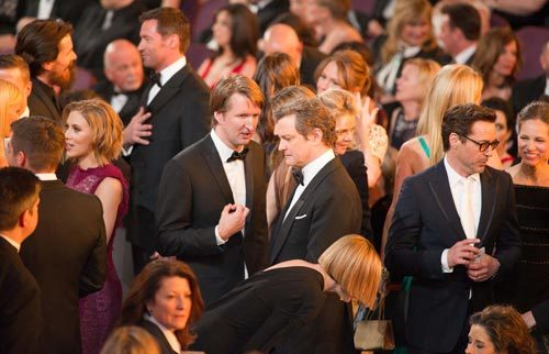 Tom Hooper, Colin Firth