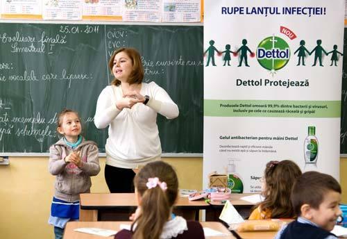 Igiena copiilor sanatosi - un nou program educational