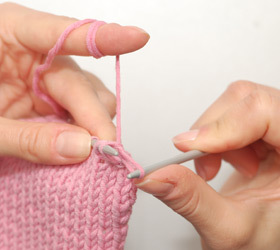 tricotaj, scadere, incheiere