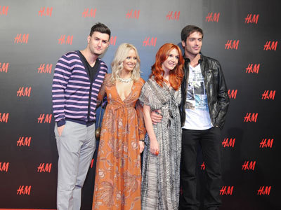 Adela Popescu, Radu Valcan, Laura Cosoi, Smiley