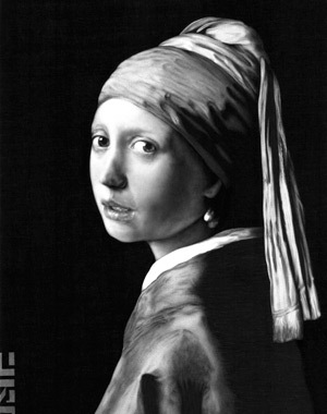 Fata cu cercel de perla, Vermeer, James Mylne