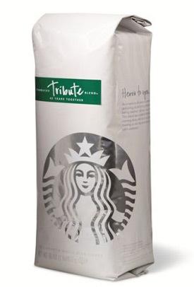 Starbucks - cafea Tribute Blend