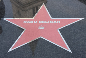 Radu Beligan, actor, stea