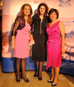 Mihaela Geoana, Iuliana Tudor, Cristiana Copos