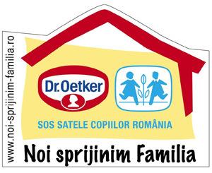 Parteneriatul Dr. Oetker - SOS Satele Copiilor