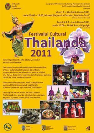 Festival cultural Thailanda 2011