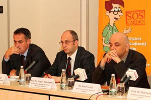 Radu Rasinar, Prof. Dr. Dragos Vinereanu, Dr. Raed Arafat