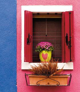 O fereastra colorata