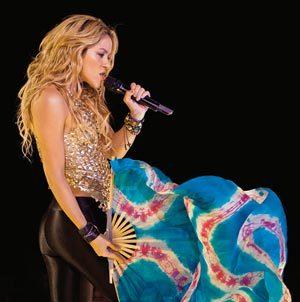 Concert, Shakira
