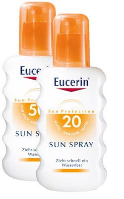 Eucerin, Sprayuri pentru protectie solara