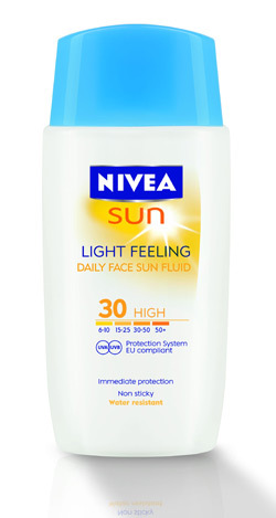 Lotiune de fata NIVEA SUN Light Feeling FPS 30