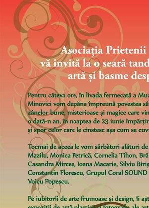 Noaptea de Sanziene, la Muzeele Minovici