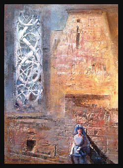 Calina Pandele Yttredal, pictura