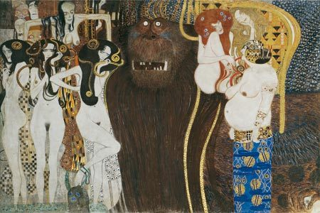 Gustav Klimt: Beethoven Frieze