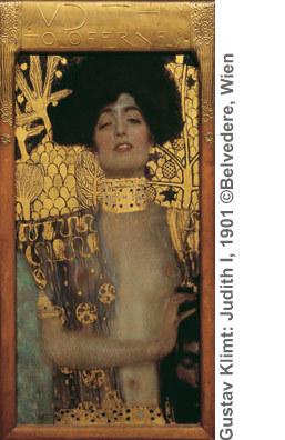 Gustav Klimt: Judith I, 1901 ©Belvedere, Wien