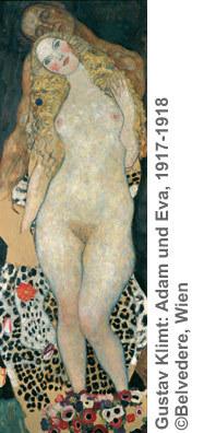 Gustav Klimt: Adam und Eva, 1917-1918 ©Belvedere, Wien