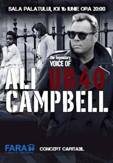 Concert, Ali Campbell
