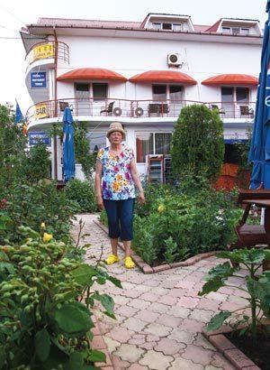 Eugenia Sintion, pensiunea Margo