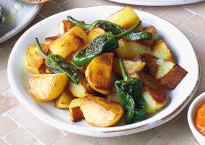 Cartofi spanioli cu sos Romesco