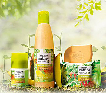 Gama Nature Secrets cu jojoba si mango