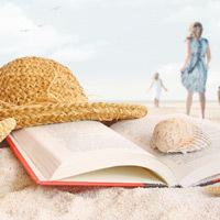 Carte, plaja, vacanta
