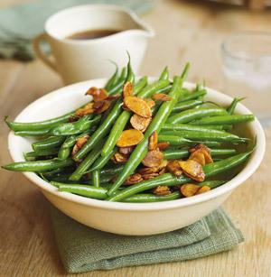 Fasole verde crocanta cu otet balsamic