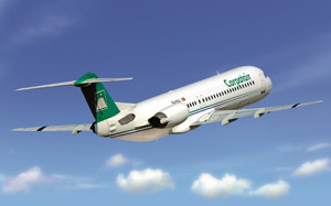 Carpatair, avion