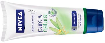 Crema de maini NIVEA pure & natural