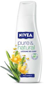 Lotiune de corp NIVEA pure & natural