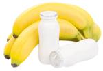 Banane + iaurt