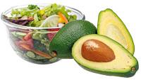 Salata + nuci sau avocado