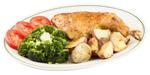 Broccoli + carne de pui
