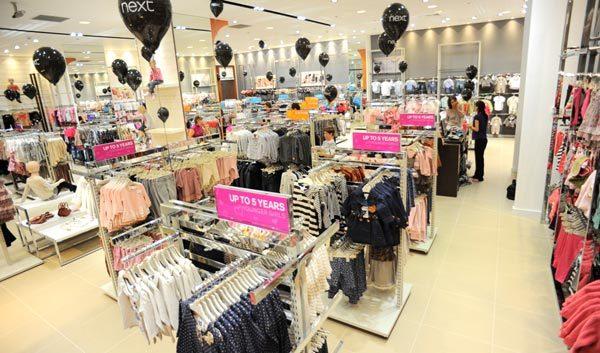 Next deschide un magazin pentru copii in Afi Palace Cotroceni