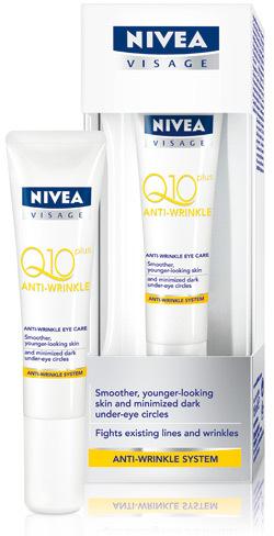 Crema de ochi antirid NIVEA VISAGE Q10 Plus