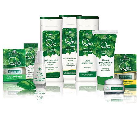 Noi produse pe baza de coenzima Q10 si ceai verde de la Cosmetic Plant