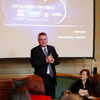 Ani MATEI, Secretar General al Comisiei Nationale a Romaniei pentru UNESCO