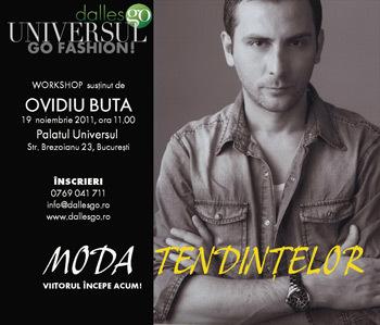Workshopul MODA TENDINTELOR