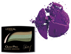 L'Oréal Paris Color Appeal Quad Pro, Make Up For Ever