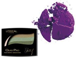 L'Oréal Paris Color Appeal Quad Pro, Make Up For Ever