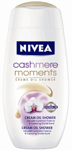 NIVEA Cashmere Moments Shower Cream