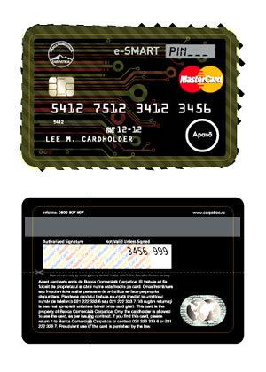 Banca Comerciala Carpatica aduce pe piata romaneasca un produs nou: MasterCard e-Smart Debit