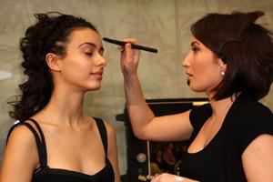 Oana Dinculescu, make-up artist, Oriflame  Romania