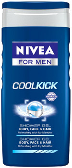 Gel de dus NIVEA FOR MEN Cool Kick