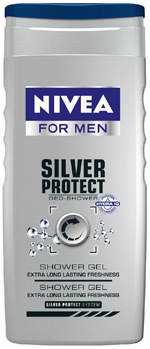 Gel de dus NIVEA FOR MEN Silver Protect