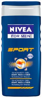 Gel de dus NIVEA FOR MEN Sport