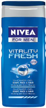 Gel de dus NIVEA FOR MEN Vitality Fresh