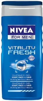 Gel de dus NIVEA FOR MEN Vitality Fresh